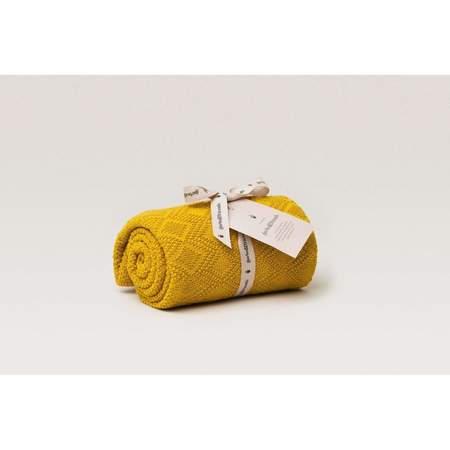 KIDS Garbo & Friends Ollie Blanket - Mustard