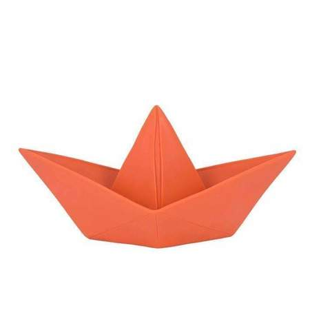 KIDS Goodnight Light Paper Boat Night Light - Coral