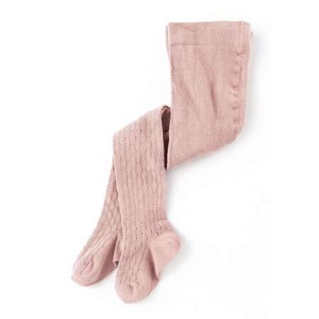 Kids Tocoto Vintage Ribbed Tights - Pink
