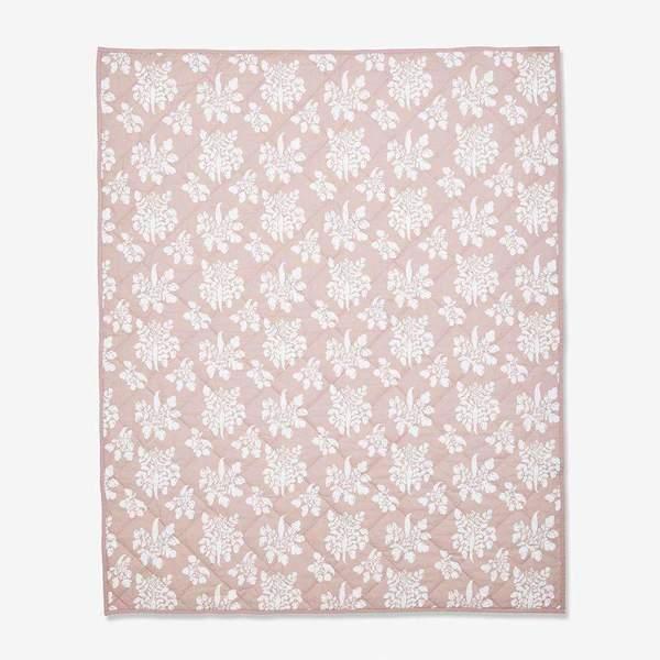 KIDS Lewis Quilted Baby Blanket - Parsnip