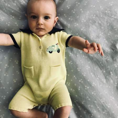 KIDS Floc Baby Scooter Romper - YELLOW