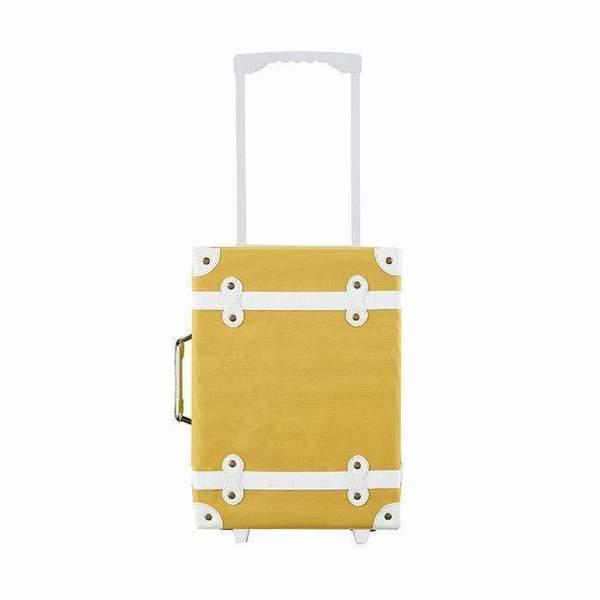 Kids Olli Ella See-Ya Suitcase - Mustard