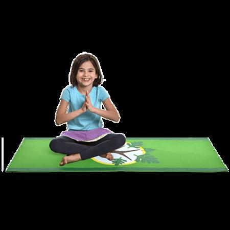 Kids The Little Yoga Mat Tree Mat