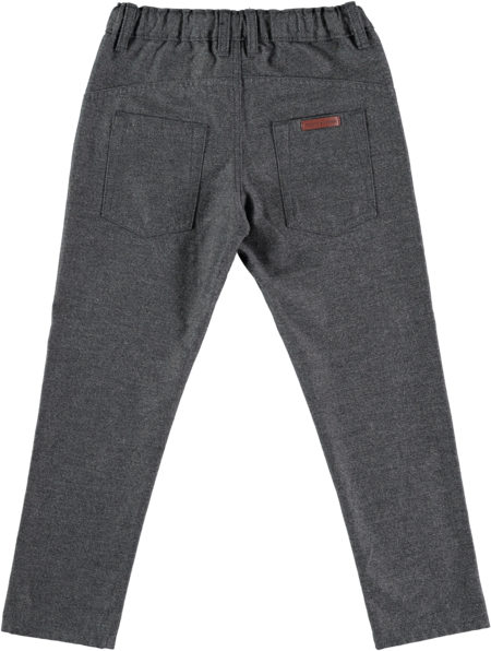 Kids Tocoto Vintage Twill Trousers - Dark Grey