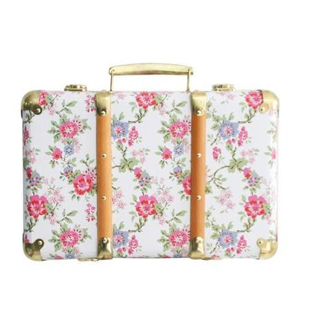 kids Alimrose Vintage Style Carry Case - Cottage Rose