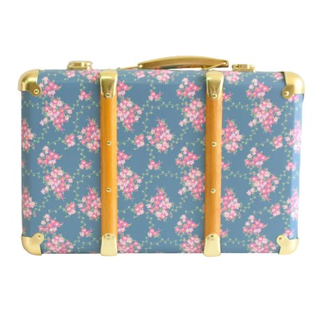 kids Alimrose Vintage Style Carry Case - Wildflower