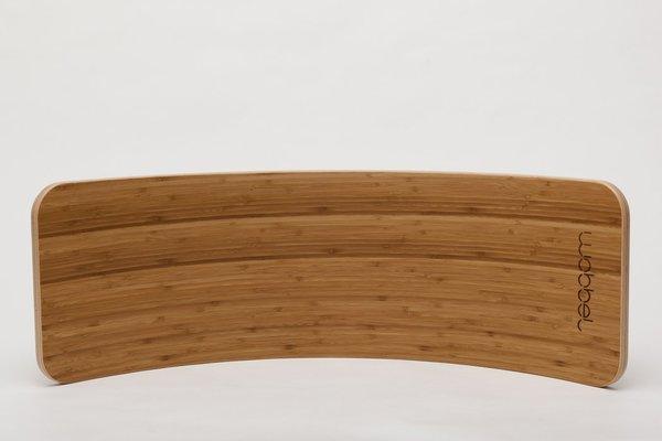 Wobbel Board Waldorf Balance Board - Bamboo/Forest Green Felt