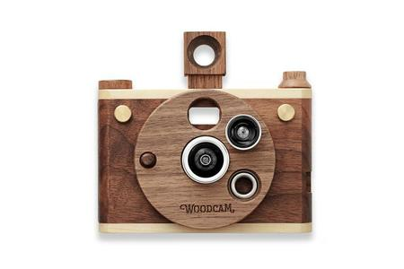 KIDS Father's Factory Woodcam Vintage Style Camera, Digital 1.0