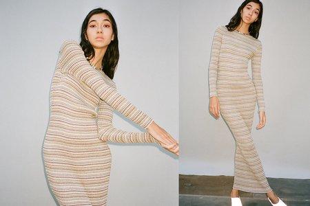 Julia Heuer Sukie Dress - Stripes