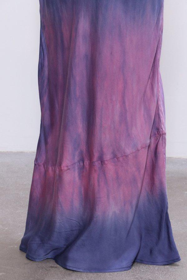 John Elliott Myrrh Slip Dress - Navy/Highlighter