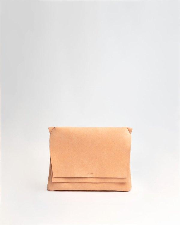 Kwonn Soft Crossbody Bag - Peach