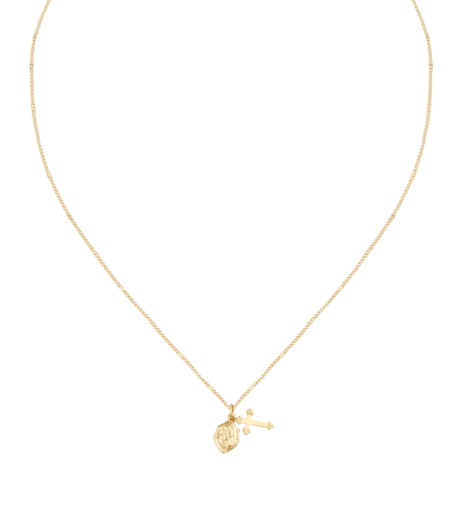 Five and Two Josephine Necklace - 16K Gold plated