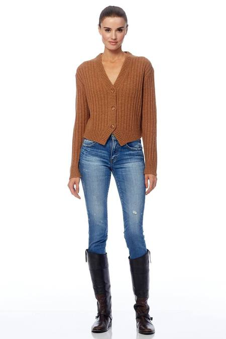 360 Cashmere Poppy Sweater - Peanut