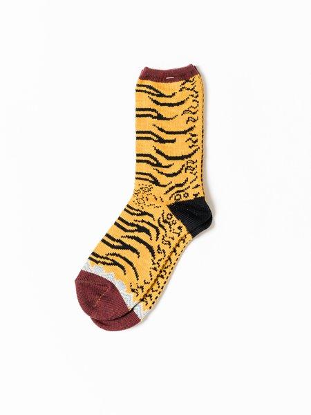 Kapital 84 Yarns Nepal Tiger Socks - Yellow