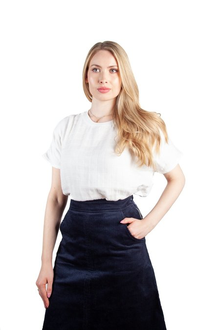 Allison Wonderland Crosby Skirt - Black