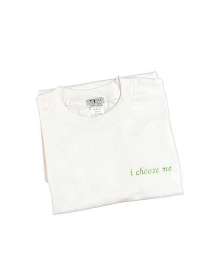 House of 950 i choose me embroidery tee shirt