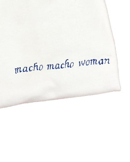 House of 950 embroidery tee shirt macho macho woman