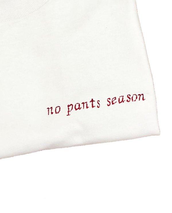 House of 950 embroidery tee shirt no pants season