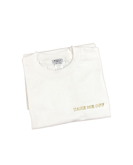 House of 950 TAKE ME OFF embroidery tee shirt