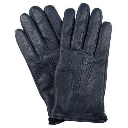 Norse Projects x Hestra Salen Leather Gloves - Navy