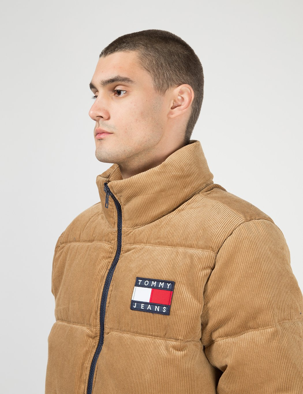 Tommy Hilfiger Tommy Jeans Corduroy Puffer Jacket - Tigers ...