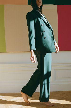 Wray Ethan Trouser - dark green
