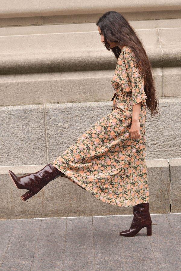 Wray Market Dress - Peony Floral