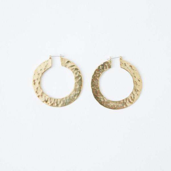 Crescioni Sol Earrings - Brass