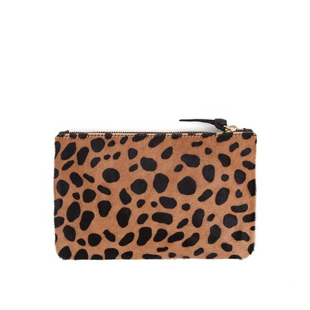 Clare V. Wallet Clutch - Leopard Hair