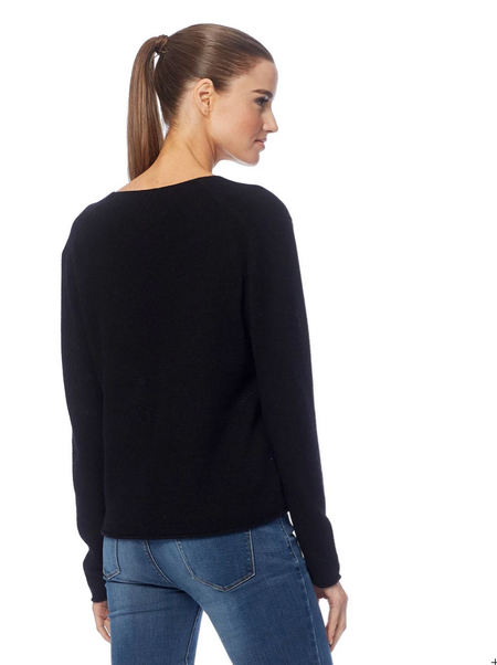360 Cashmere Gwen Sweater - Black