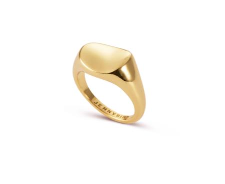 Jenny Bird dee signet ring - gold