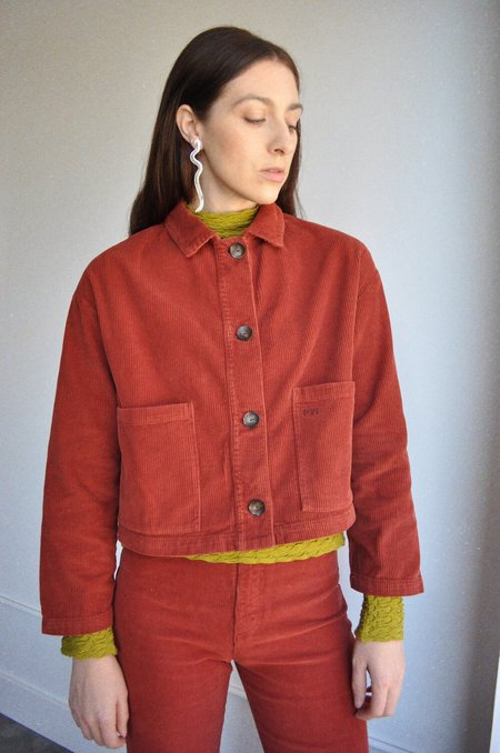 Paloma Wool Spa Jacket - Wine
