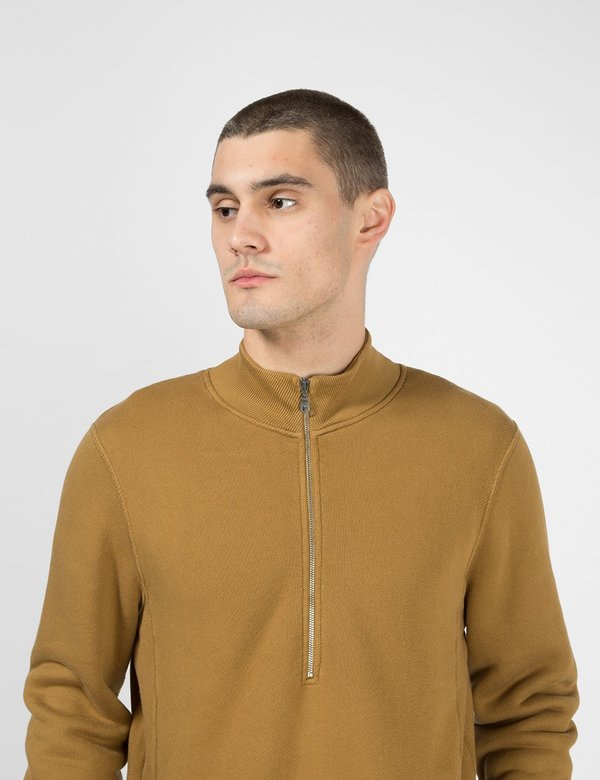 Folk Clothing Everyday Funnel Sweatshirt - Dark Fawn