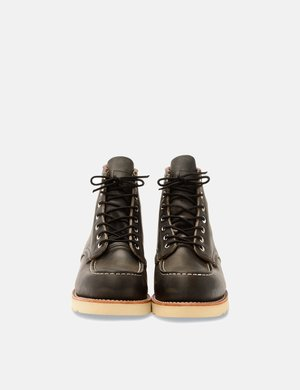 "Red Wing Shoes Heritage 8890 6"" Moc Toe Work Boots - Charcoal Grey"