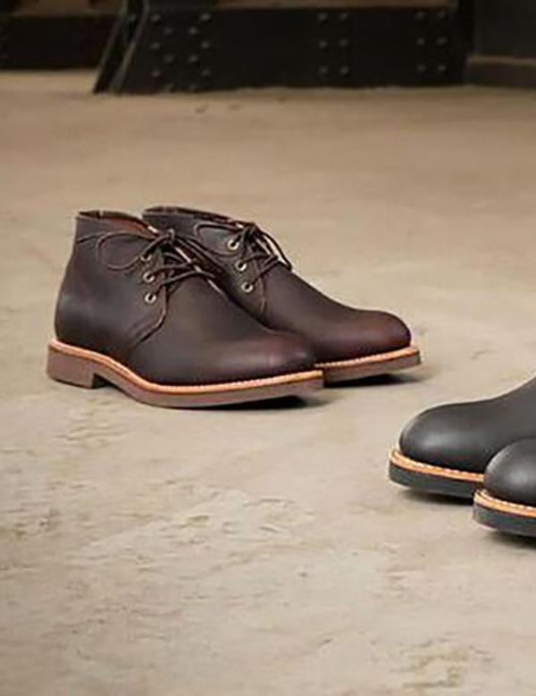 Red Wing Shoes Heritage Foreman Chukka Boots - Brown Briar Oil Slick
