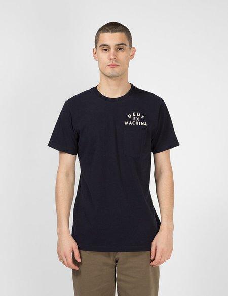 Deus Ex Machina Canggu Pocket T-Shirt - Midnight Blue