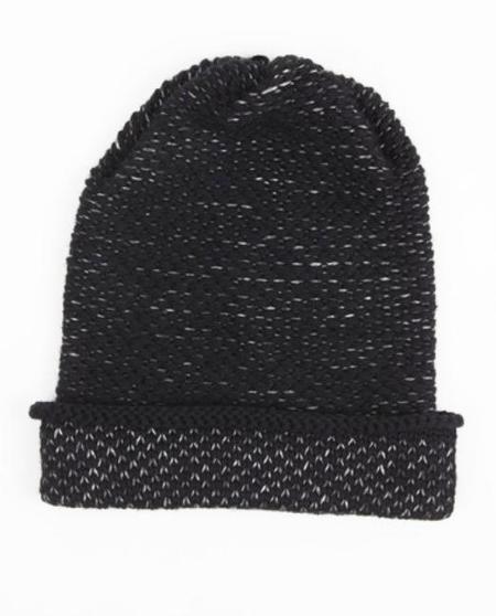 KordalSeed Stitch Hat - Black/Grey