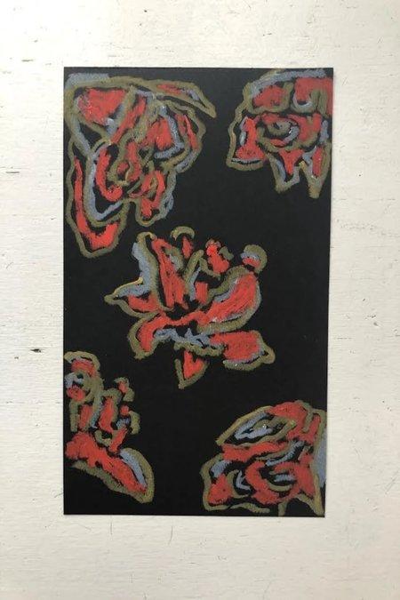 Rachel Schultz Studios paper - Red