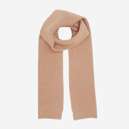 unisex Colorful Standard Merino Wool Scarf - Desert Khaki