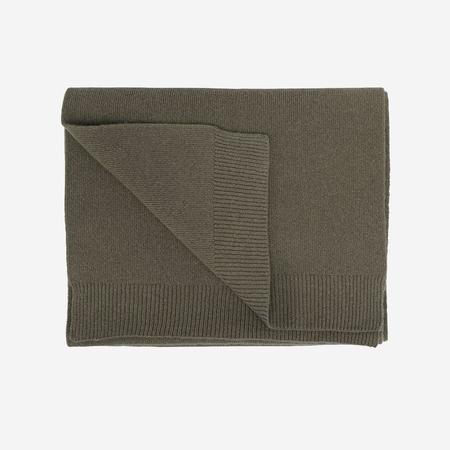 unisex Colorful Standard Merino Wool Scarf - Dusty Olive