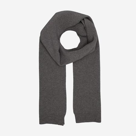 unisex Colorful Standard Merino Wool Scarf - Lavy Grey