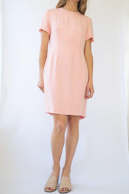 Vintage Silk Dress - Pink