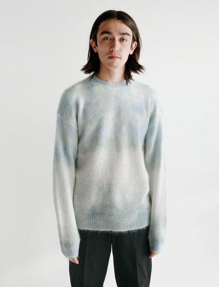 Auralee Super Kid Mohair Knit Pullover - Tie Dye