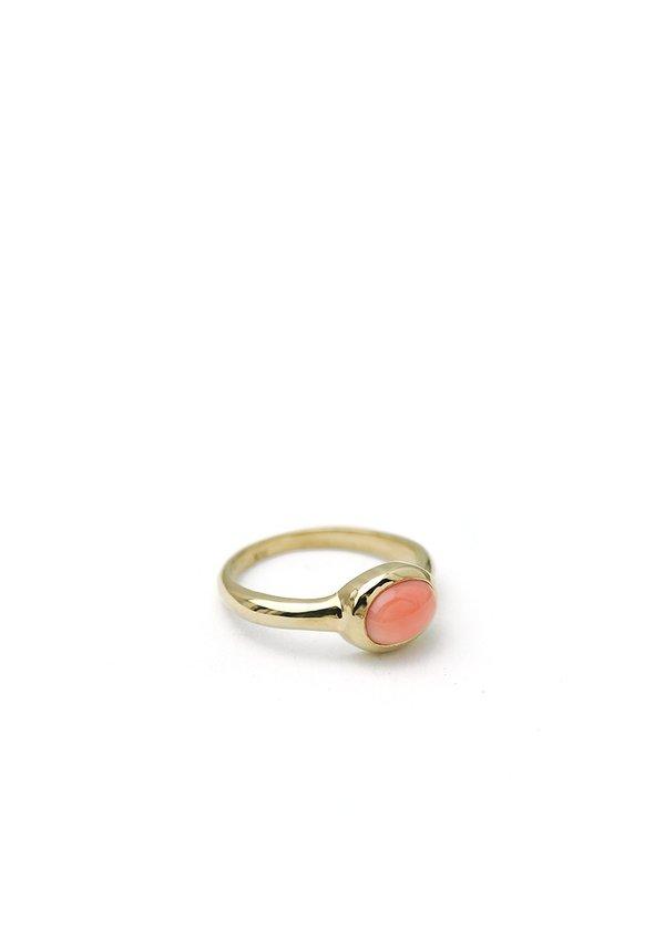 Tiro Tiro Coral Ring - 14k Gold