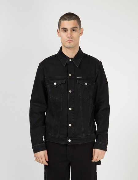Calvin Klein Jeans Foundation Denim Jacket - Black