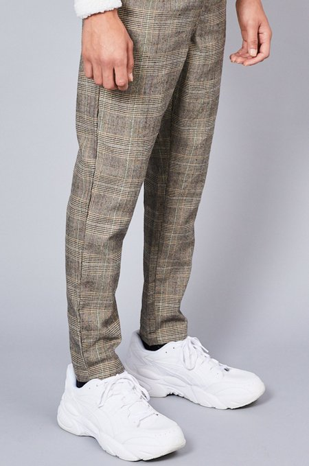 Native Youth WICKER PANT - CHECK