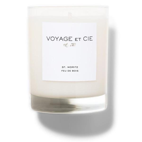"""Voyage et Cie Feu du Bois 4"""" Candle"""