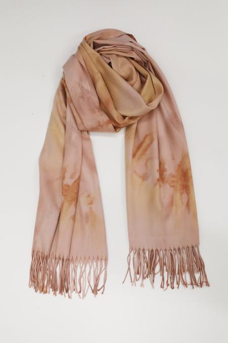 Collina Strada Cashmere Scarf - Pink Tie Dye