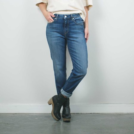 Father's Daughter LA Ally High Rise Tapered Crop Jean - Labor