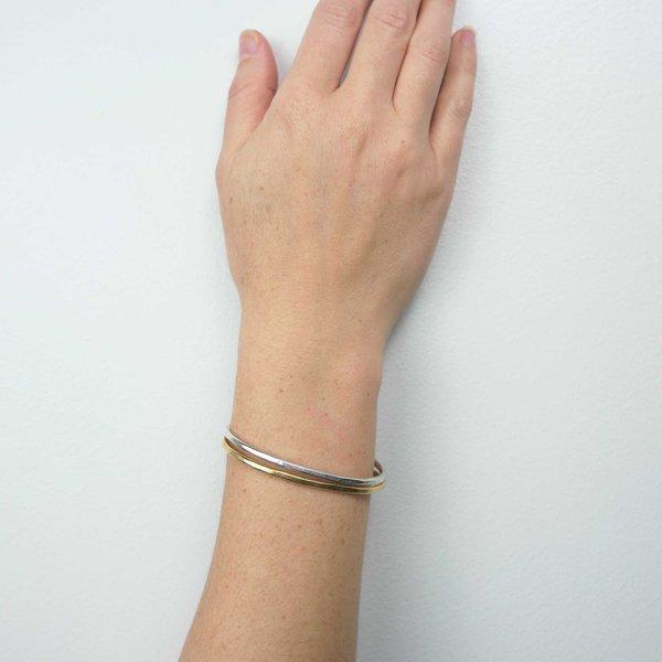 Mesa Band Cuff Bracelet - Silver